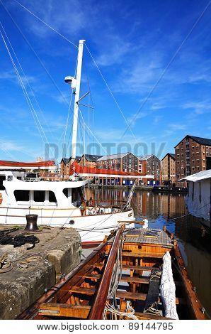 Gloucester Docks.