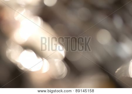 Bright bokeh