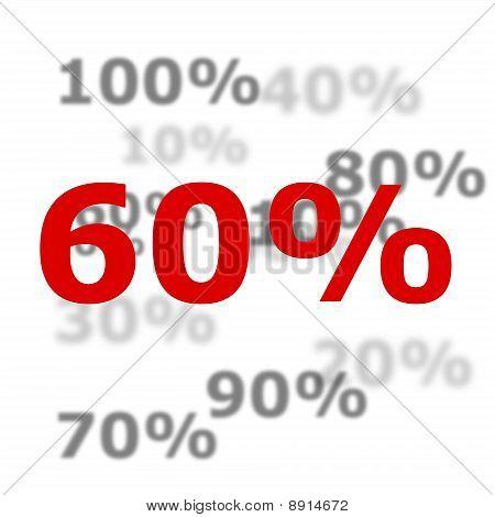 60 Por ciento