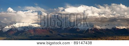 Lenin Peak From Alay Range - Kyrgyz Pamir Mountains