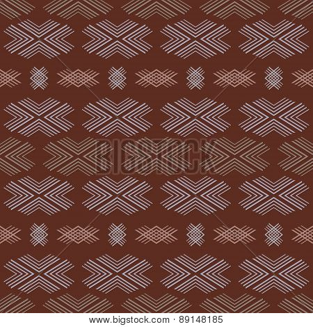 Beautiful Ethnic Seamless Pattern