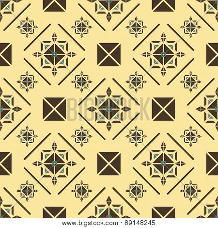 Elegant Seamless Pattern In Royal Style