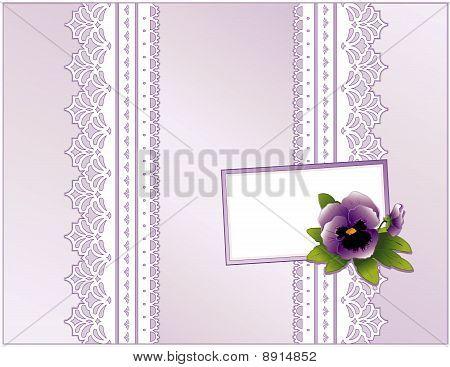 Lavender Satin Present