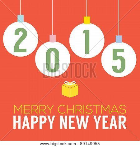 2015 Happy New Year Card.