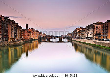 Down the Arno River