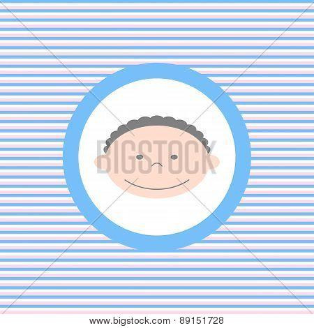 Baby Boy Color Flat Icon