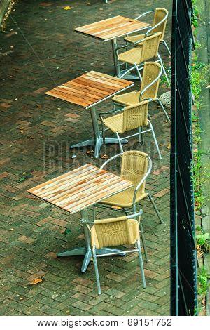 Outdoor Restaurant Coffee Open Air Cafe