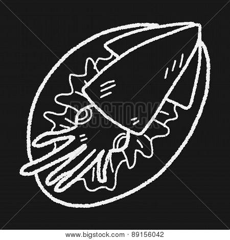 Squid Food Doodle