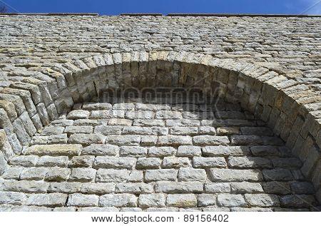 Fortress Wall In Tallinn.