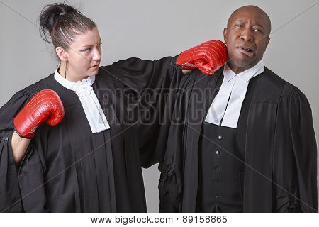 Fighting Lawyer