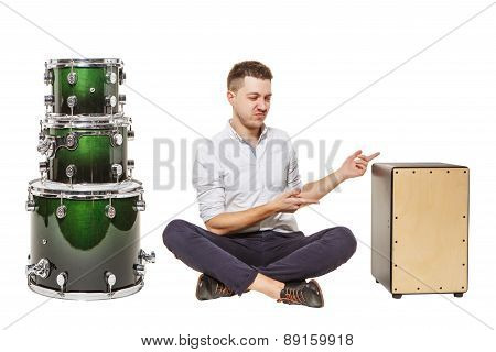 Cajon And Drums