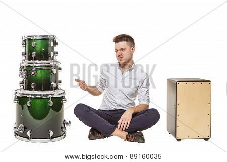 Drums Is A Bad Choice