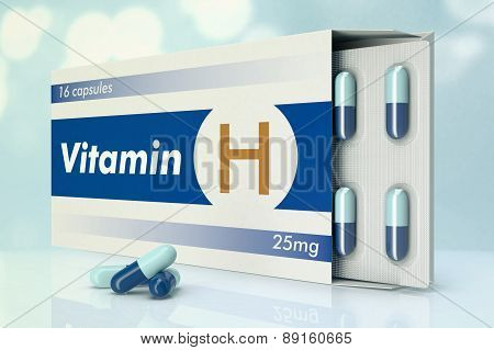 Vitamin Capsules, H