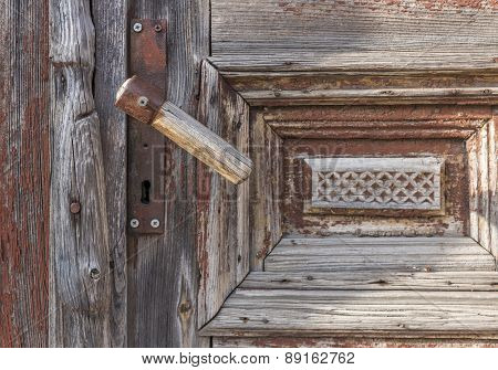 Old Vintage Wood Doors
