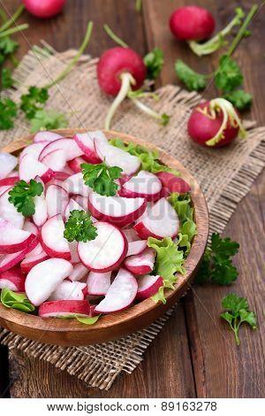 Fresh Vegetable Radish Salad