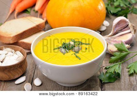 Cream Soup With Pumpkin