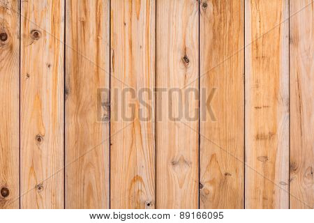 Background Wall Texture Of Light Wood Planks.