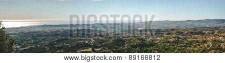 Panoramic View Of Fuengirola Town