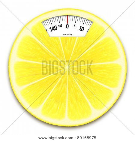 An image of an lemon weight scales