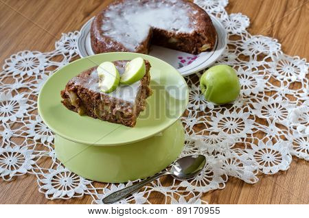 Apple Pie With Cinnamon