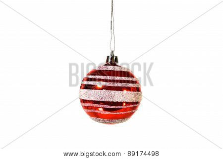 Red and white Christmas Tree Decoration