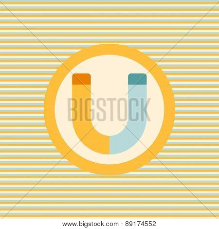 Magnet Color Flat Icon