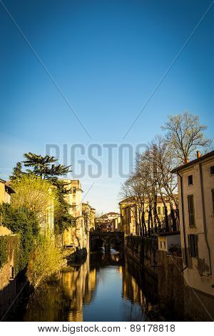 Mantova And Its Canal