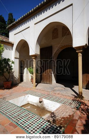 Nasrid Palace, Malaga.