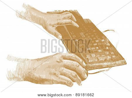 Hands On The Keyboard
