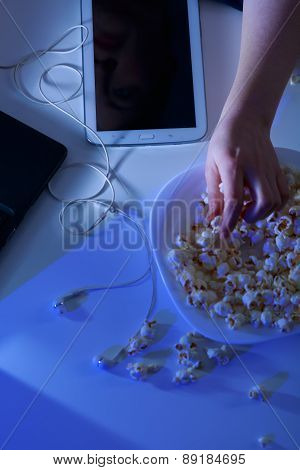 Modern Technology And Popcorn