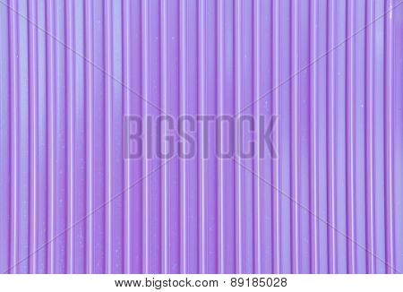 Purple corrugated metal
