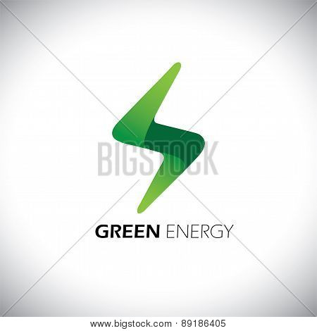 Lighting Bolt Flash Logo Design Vector Icon.