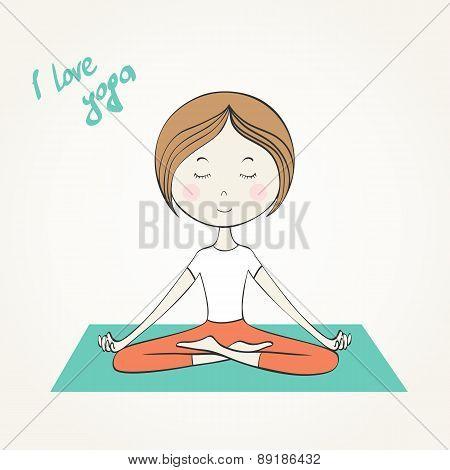 Vector yoga