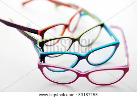 Composition Of Colored eyewear