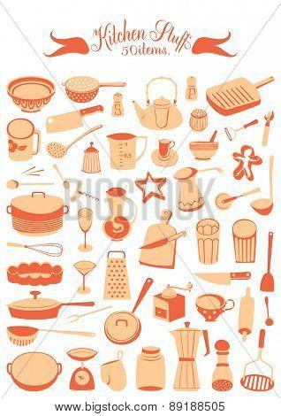 Vector set - Kitchen stuff