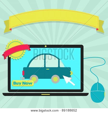 Buy Car Online Through Laptop