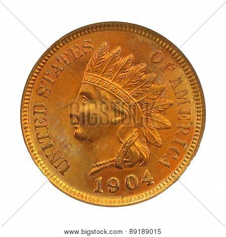 1904 indian head coin