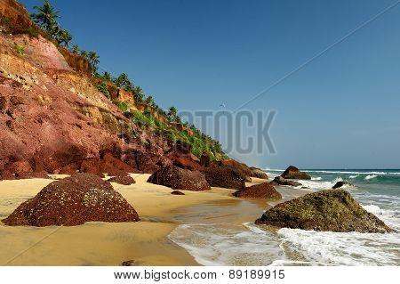 Varkala Beach In India