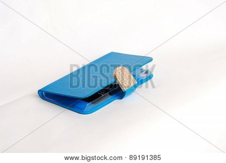 Blue Fashionable Design  Case For Smartphone