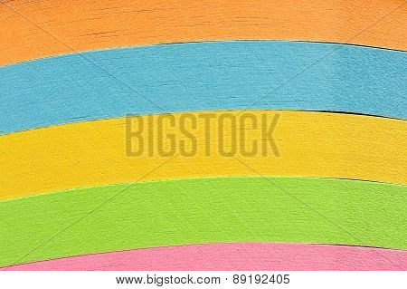 Stack Of Colored Paper Background