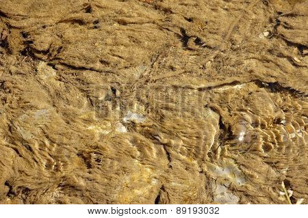 Sediments in the stream
