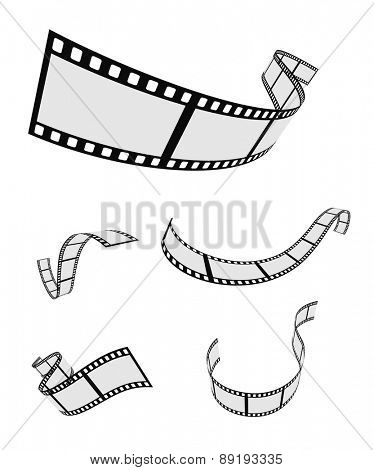 film roll strip tape set design
