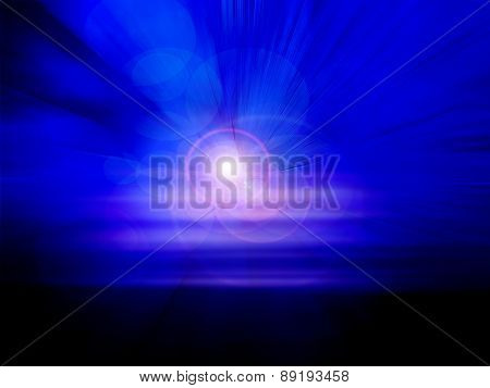 Abstract Striped Background Line Design
