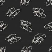 pic of ballet shoes  - Ballet Shoes Doodle - JPG