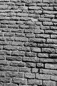 pic of fortified wall  - Limestone fortress wall in Tallinn Estonia - JPG