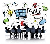 pic of revenue  - Sale Sales Selling Finance Revenue Money Income Payment Concept - JPG