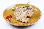 picture of t-bone steak  - T - JPG