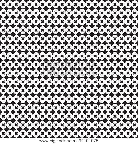 Abstract Geometry Seamless Pattern From Diamonds, Rhombus