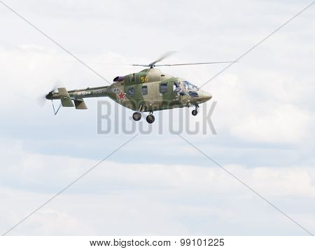 Military Helicopter Ansat-u, The Russian Air Force