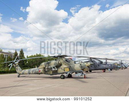 Russian Military Helicopter Mi-28